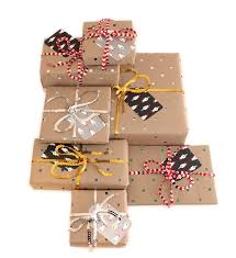 Gifts By Mail Sparkly Holiday Gift Wrapping Babasouk