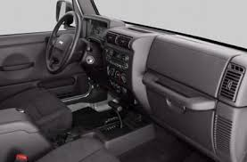 Jeep Wrangler Interior See 2004 Jeep Wrangler Color Options Carsdirect