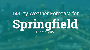 Springfield illinois usa 14 day weather forecast