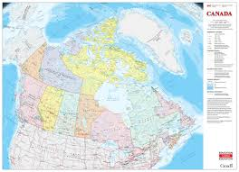 canadian map new rip proof classroom map of canada now available canadian