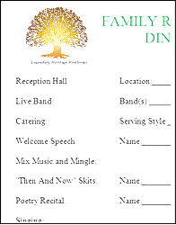 banquet program templates sle banquet programs impression portrayal meowings