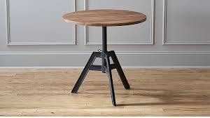 Small Bistro Table Alias Adjustable Coffee Table In Side Tables Reviews Cb2