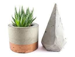 Concrete Planter Planters Copper Flower Containers Pots India Planter Uk Copper
