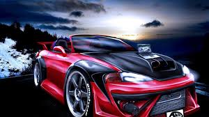 mitsubishi eclipse tuned tuning 3d walldevil