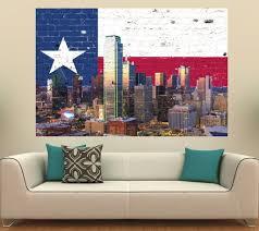 Image Of Texas Flag Dallas Skyline Texas Flag U2013 Zapwalls