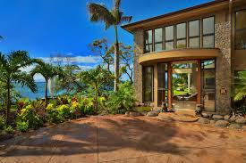 the elegant in addition to stunning tropical home design hawaii