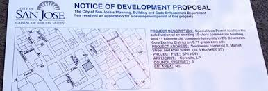 how new development projects get approved in san jose