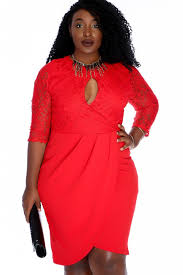 navy lace layover long sleeve knee length plus size dress
