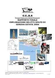 Mobili Usati Genova Sampierdarena by Rapporto Relitti Genova 2004 Gers By Massimo Domenico Bondone Issuu