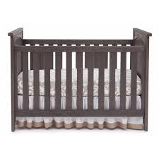 Cribs 3 In 1 Convertible by Serta Northbrook 3 In 1 Crib In Rustic Grey
