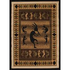 Airplane Rug Kokopelli Area Rug Rugs Compare Prices At Nextag