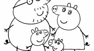 peppa pig coloring pages print archives cool coloring pages