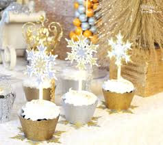 silver party favors kara s party ideas gold silver christmas dessert table