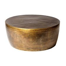 brass drum coffee table brass drum beautiful coffee table almosthomebb