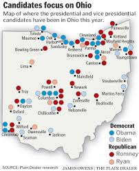Map Of Medina Ohio by Obama And Romney Return To Ohio This Week 48 Hours That Will Set