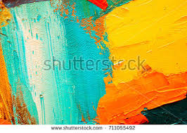 abstract art background oil painting on stock photo 296597117