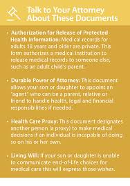 Medical Power Of Attorney Responsibilities by Help Your Child Stay Safe At College Addiction Prevention