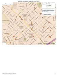 Rowan Map Salisbury N C Offender Map Rowan Free Press