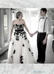 black and white colored wedding dresses online black wedding gowns