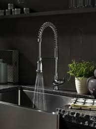 fancy kitchen faucets i would an industrial sink and that faucet for the