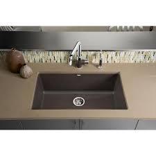 blanco metallic gray sink blanco 440148 precis metallic gray kitchen sinks sinks efaucets com