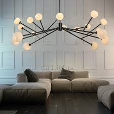Wrought Iron Pendant Light 18 Light Glass Shades Wrought Iron Pendant Lighting Chandelier