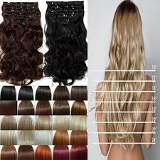real hair extensions clip in cheap price clip in hair extensions real synthetic 8