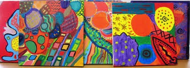 gorgeous abstract art in grade seven alejandra chavez