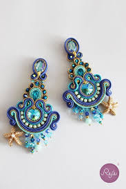soutache earrings 29 best images about soutache on soutache earrings