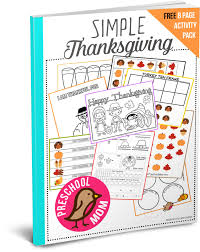 thanksgiving graphing thanksgiving preschool printables