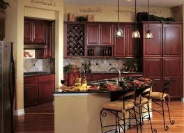 mahogany kitchen cabinets cool orange color mahogany wood kitchen