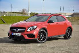 cambered smart car 2018 mercedes amg gla45 first drive impressions specs digital