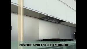 bronze acid etched mirror kitchen glass backsplashes nyc youtube