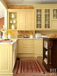 kitchen color ideas yellow yellow kitchen design ideas better homes gardens
