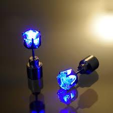 light up earring studs light up led earrings eternity led