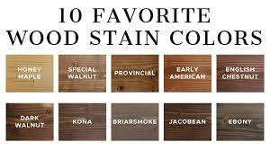 what stain looks on pine 10 favorite wood stain colors angela made