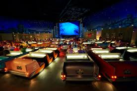 movie theater in home sci fi dine in theater at walt disney world home design trends