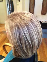 how to blend grey hair with highlights blending grey hair with highlights and lowlights hairs picture