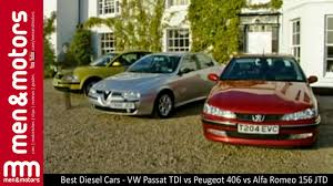 peugeot executive car best diesel cars vw passat tdi vs peugeot 406 vs alfa romeo 156