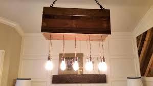 rustic beam light fixture reclaimed wood light fixture rustic modern hanging beam with rusted