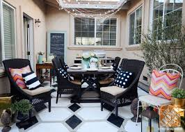 Affordable Chic Outdoor Decor Ideas by Emejing Outdoor Patio Decorating Ideas Images Home Design Ideas