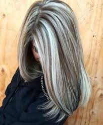 photos of gray hair with lowlights putting lowlights in graying hair hairstylegalleries com hair