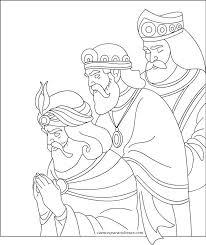 imagenes de navidad para colorear online dibujos de los reyes magos de navidad para colorear online a