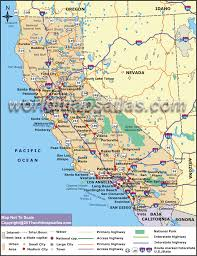 Map Of Usa Roads by Map Of California California State Map