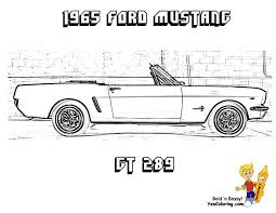 2004 mustang coloring page coloring home
