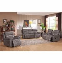 Grey Leather Reclining Sofa by Amax Leather Premium Leather Furniture Shop Factory Direct