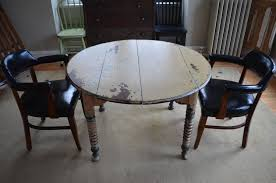 round farm table primitive antique with original paint for sale at