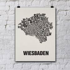 Wohnzimmer Wiesbaden Telefonnummer Buchstabenort Wiesbaden Stadtteile Poster Typografie Selekkt Com