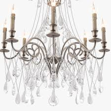 Chandelier Company Currey And Company Lillian Chandelier 3d Cgtrader