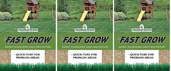 amazon com jonathan green 10820 fast grow grass seed mix 3